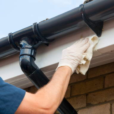 uPVC Fascias and soffit cleaning